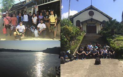 Jóvenes universitarios de la red ESEJOVEN conviven una semana con comunidades Awajún